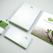 Criação de Identidade Visual para C&M Soluções Ambientais