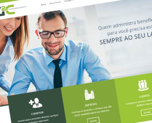 Criação de Sites - g2c administradora de Banefícios